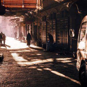 Martin Frick Fineart Medina Morning Light Marrakesch
